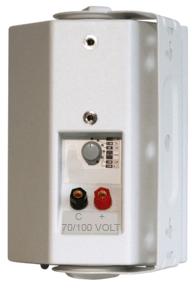 Altoparlante da 100 volt per sistemi di diffusori distribuiti