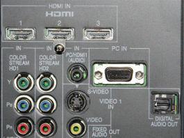How to Connect a VCR to a Flat Screen TV