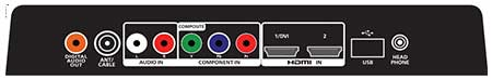 conenct a VCR with Composite Video