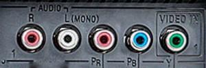 Connect a VCR - mono