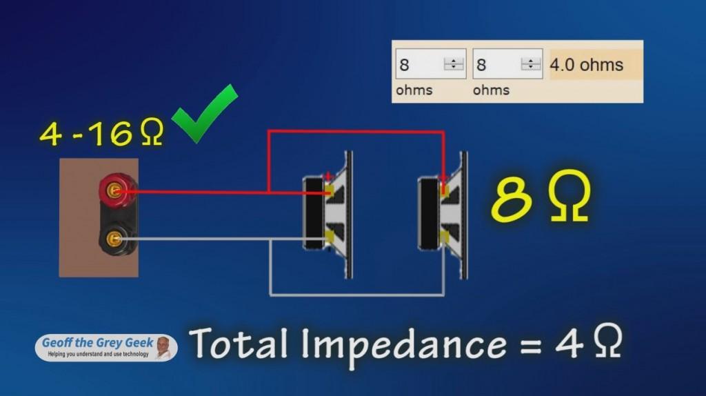 Understanding Speaker Impedance - Geoff the Grey Geek